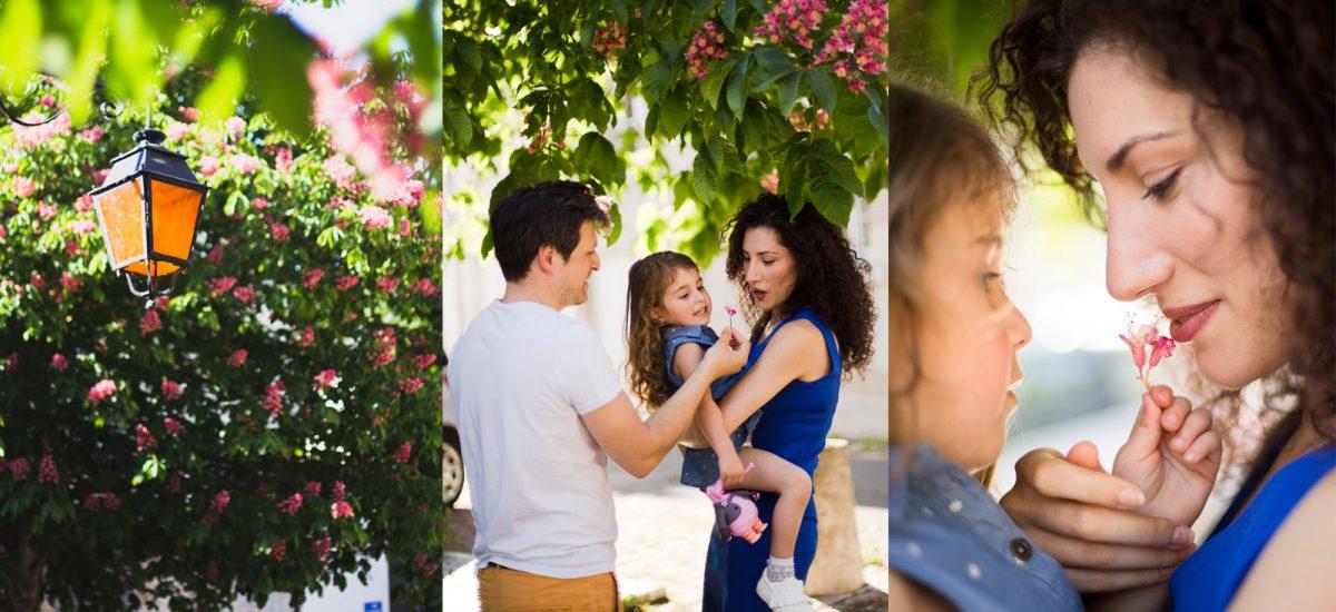 Séance de photos pour les enfants et la famille