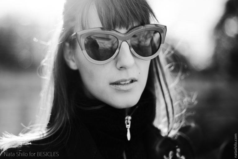 Séance photo créateur de lunettes