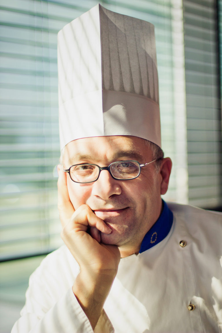 portrait corporate chef cuisine