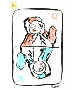 card game, babies girl or boy