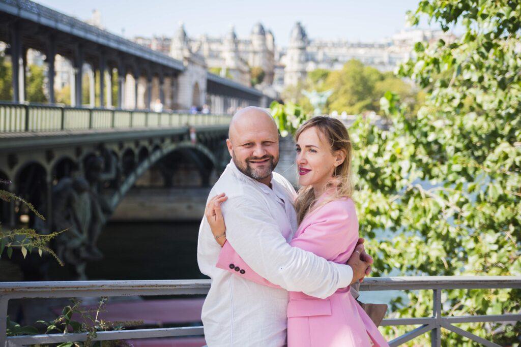 Séance photo à Paris